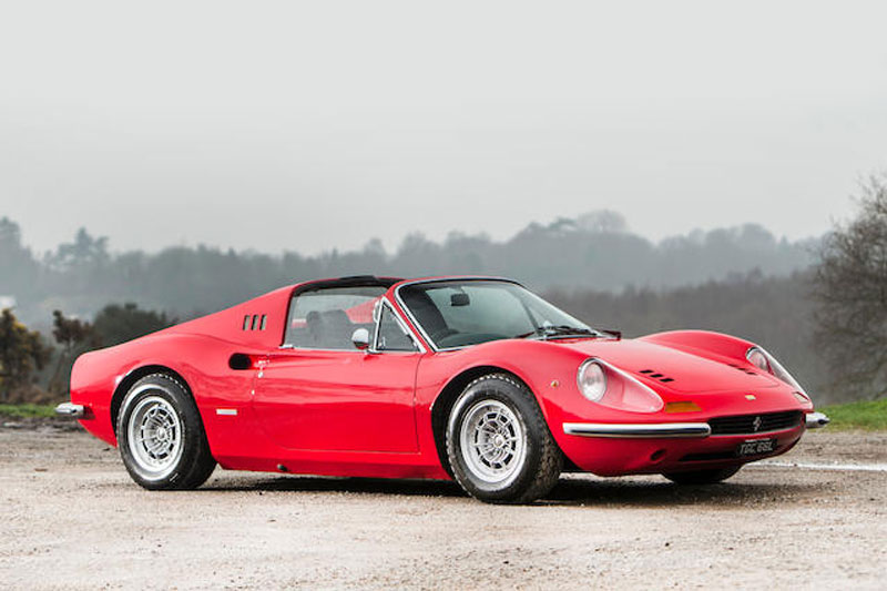 Goodwood -sale -Ferrari -246-Dino