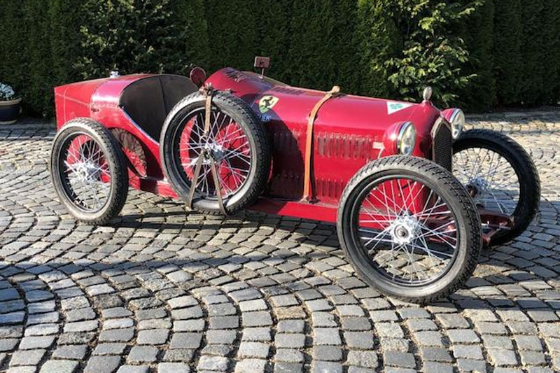 Goodwood -sale -Alfa -8C-child 's -car