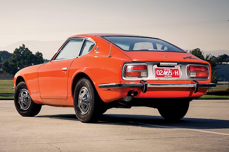 Datsun -240z -rear
