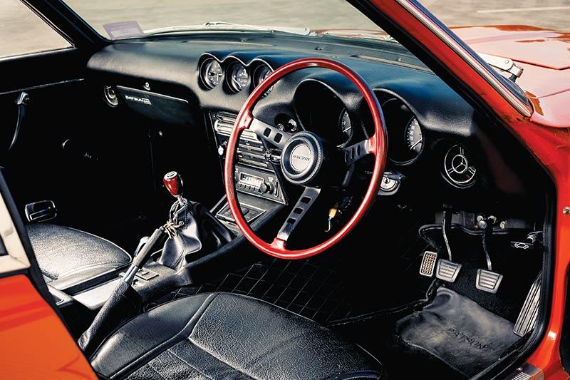 Datsun -240z -interior