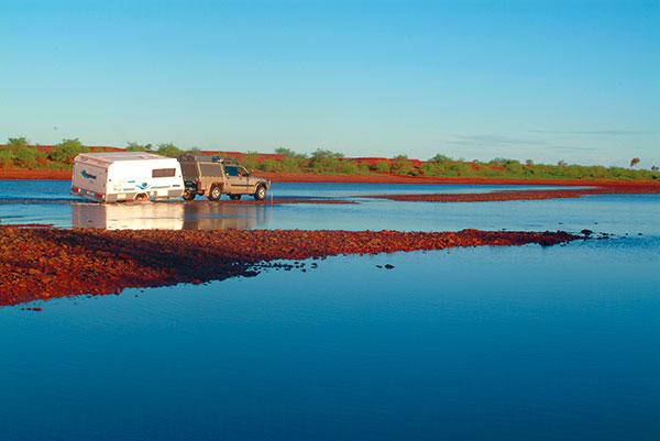 Fortescue -River -crossing -Pilbara