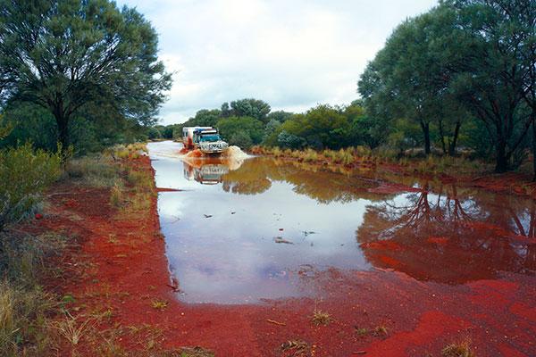 Pilbara -water -crossing