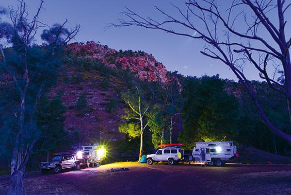 Camp -in -Warren -Gorge -Flinders -Ranges