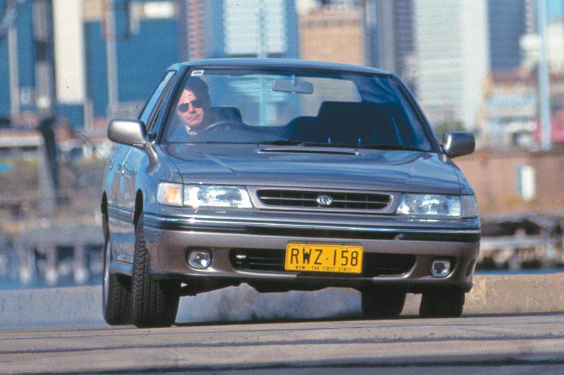 Subaru -legacy -front