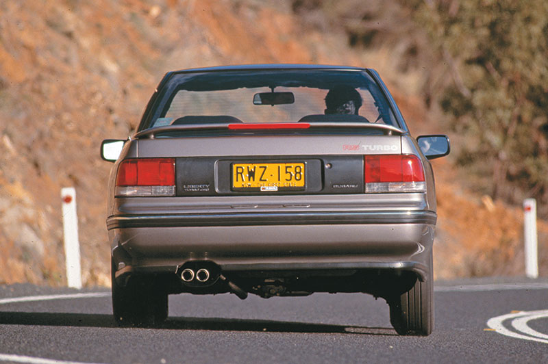 Subaru -legacy -rear2