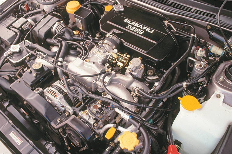 Subaru -legacy -engine -bay