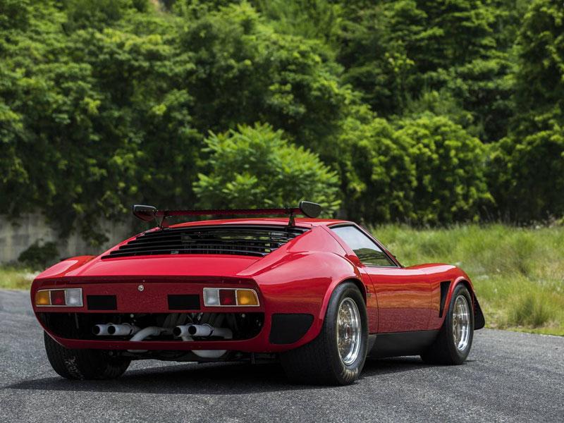 Lamborghini -Miura -SVR-rear -quarter