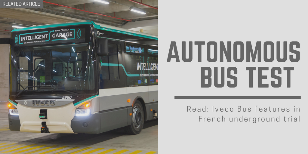 Related article: Iveco Bus features in French underground trial
