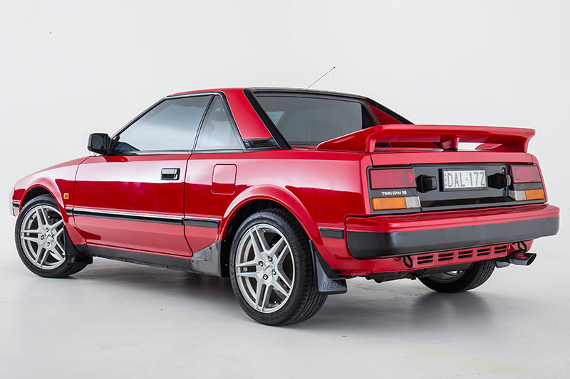 Toyota -mr 2-rear