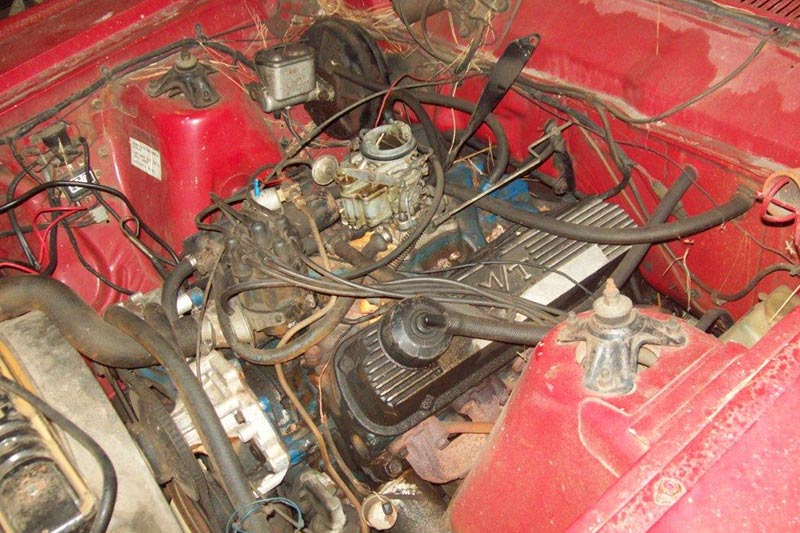 Ford -falcon -resto -engine -bay