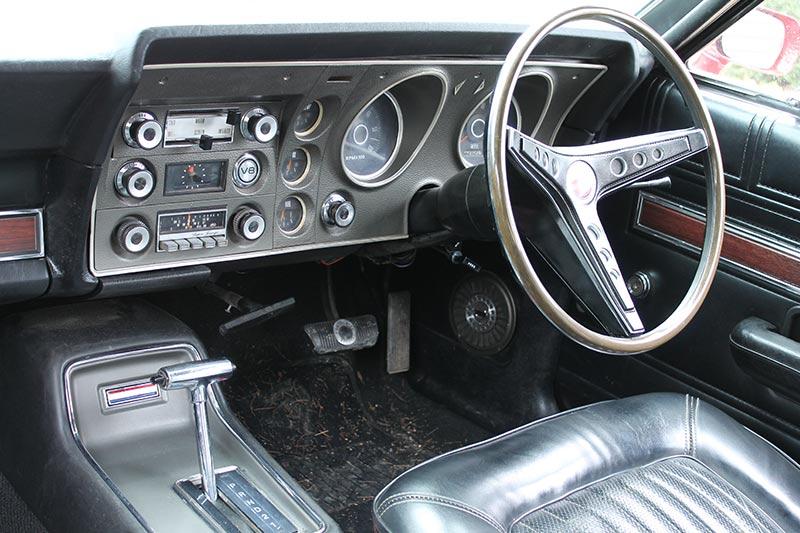 Ford -falcon -resto -dash