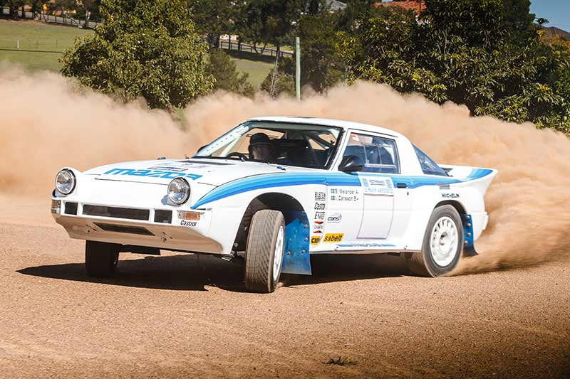 Mazda -rx 7-rally