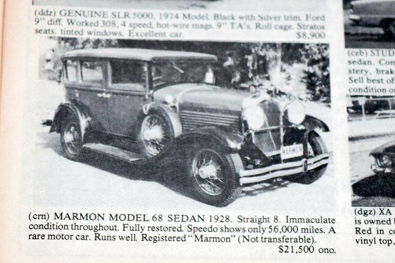 Marmon -model -68