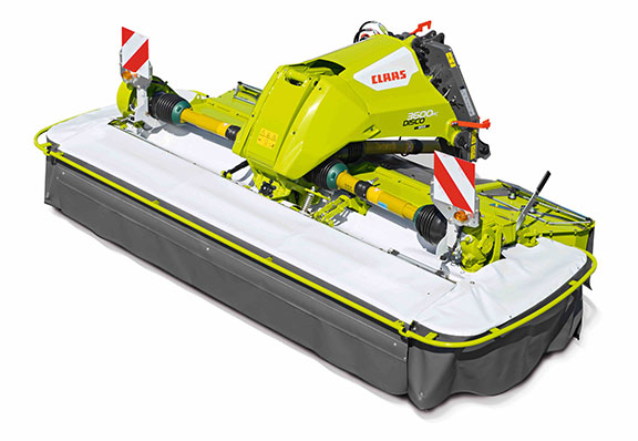 The Claas Disco 3600 mower