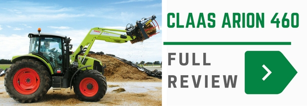 Claas Arion 400 tractor review