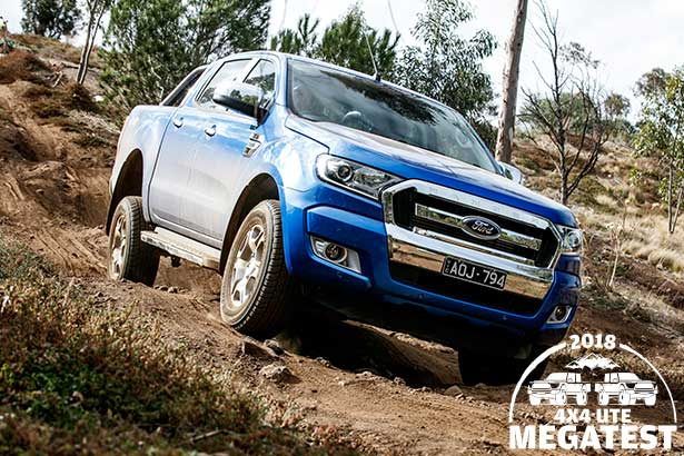 Ford -Ranger -driving -downhill -offroad