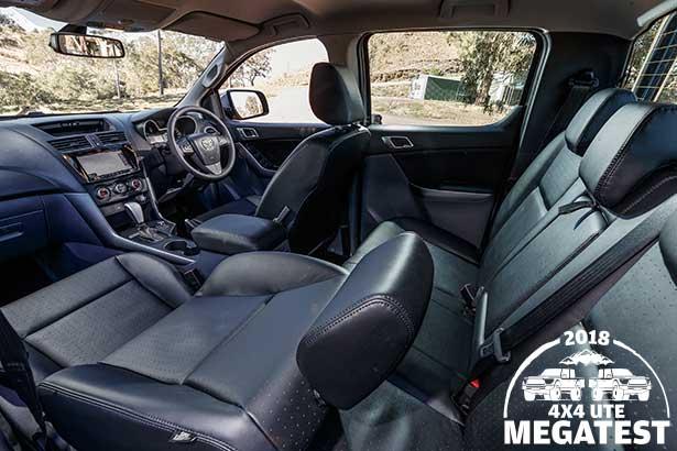 Mazda -BT-50-interior