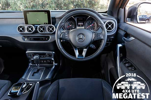 Mercedes -benz -x 250d -interior -drivers -side