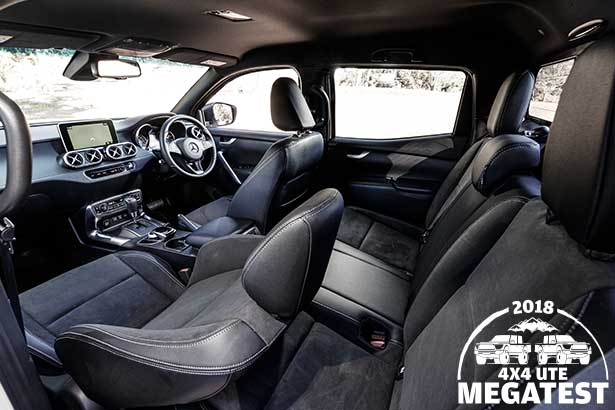 Mercedes -benz -x 250d -interior