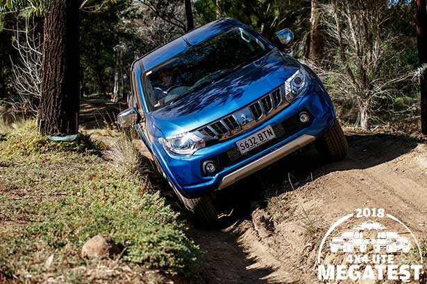 Mitsubishi -Triton -off -road