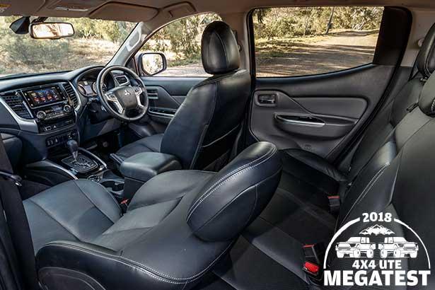 Mitsubishi -Triton -interior