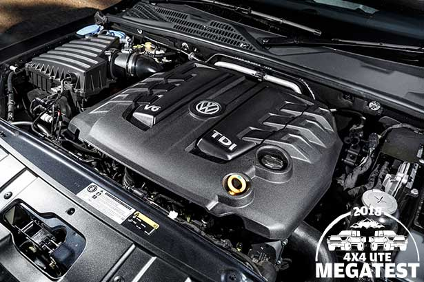 Volkswagen -Amarok -engine -bay