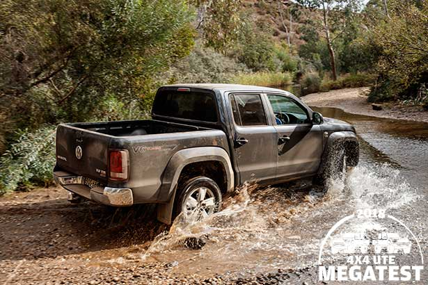 Volkswagen -Amarok -off -road -in -water