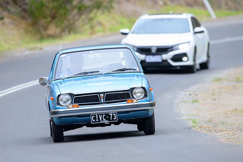 Honda -civics -onroad