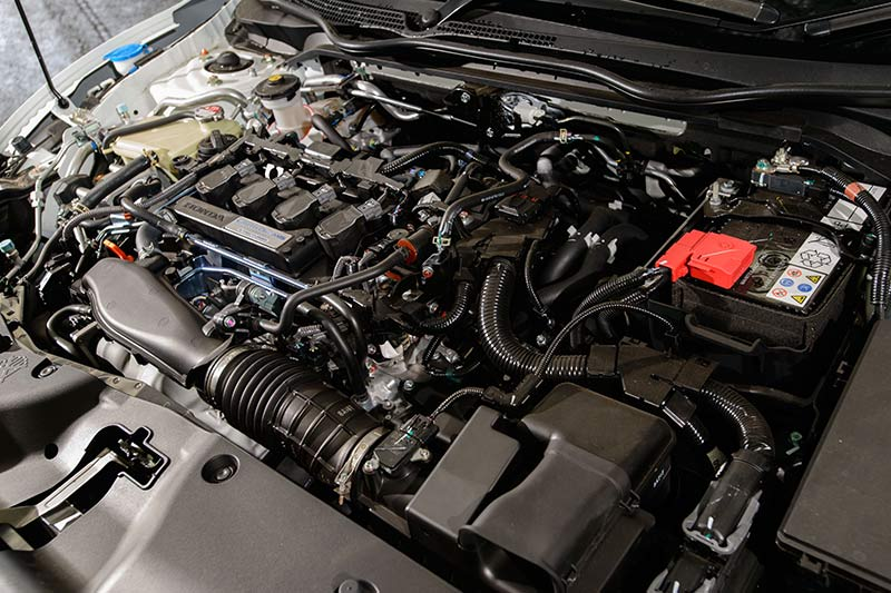 Honda -civics -engine -bay