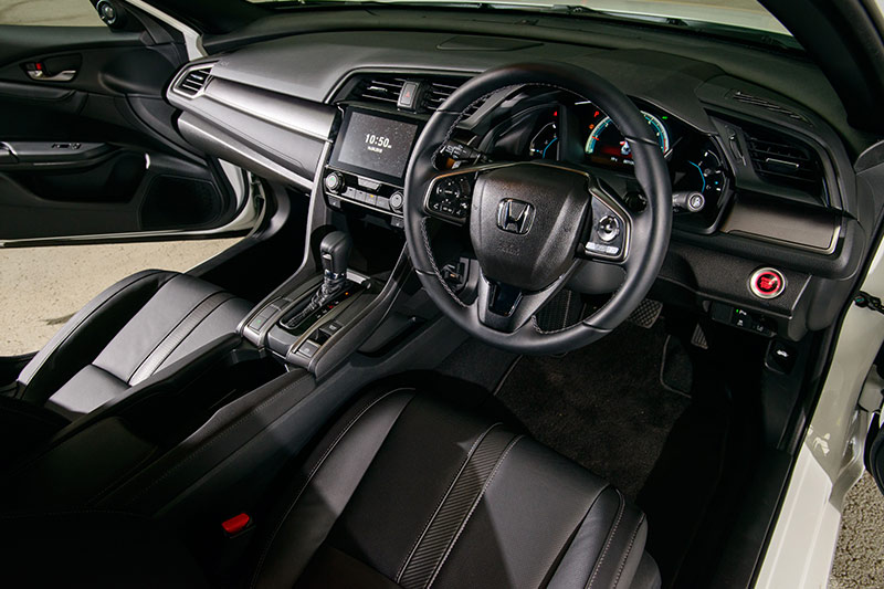Honda -civics -interior -front