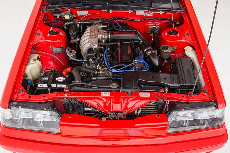 Nissan -skyline -r 31-engine -bay