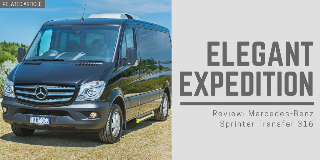 Video Review: Mercedes-Benz Sprinter Transfer 316