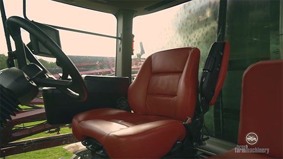 The interior of the Patriot 4430