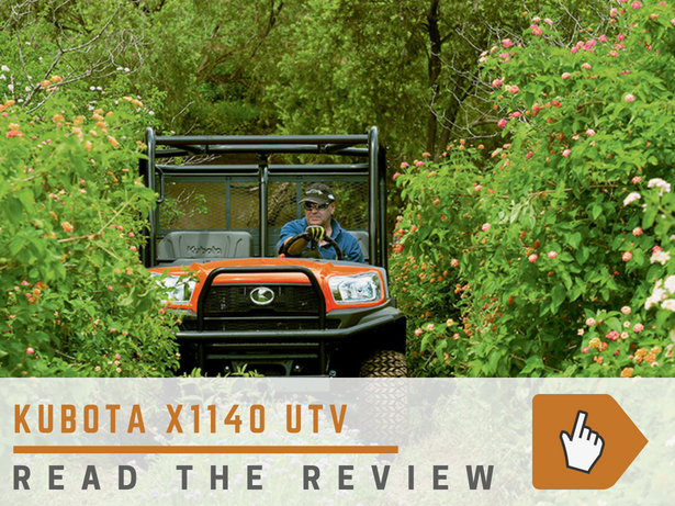 Kubota UTV Review