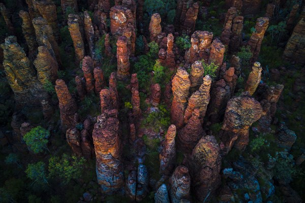 Dramatic From The Sky , The Southern Lost City , Chiselled Into The Arnhem Land Plateau