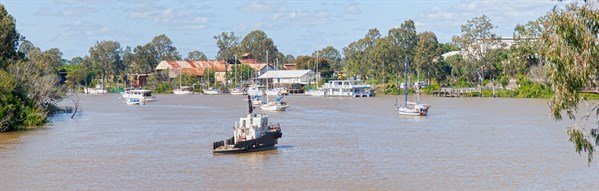 41_Town Reach On The Mary River At Maryborough