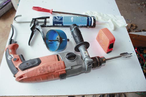 Tools to make your own evaporative cooler