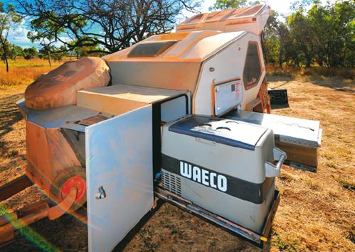 Waeco camping fridge