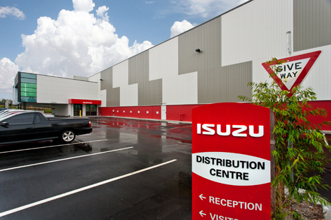Isuzu -Distribution -Centre