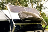 Solar Panels Fitted On Camper
