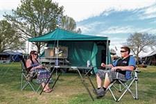 Hardfloor Aussie Swag camper trailer