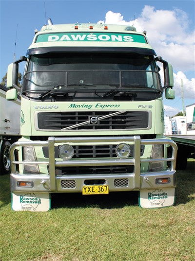 Volvo -Fm 12-Grill -Front