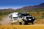 4WD Towing Caravan