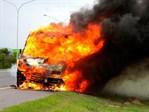 Caravan On Fire