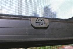 Broken window locks in caravans