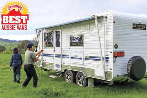 Evernew E900 Series caravan
