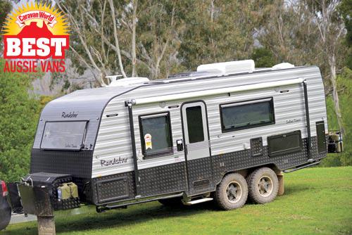 Roadstar Safari Tamer caravan