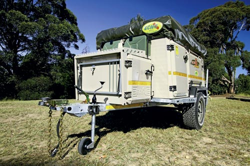 ECHO 4X4 6 CAMPER TRAILER REVIEW