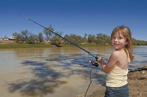 Inland fishing age is no barrier