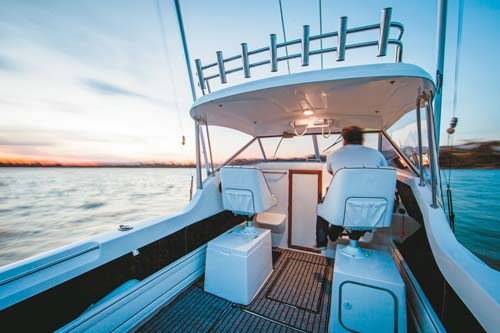 Caribbean 2300 outboard boat